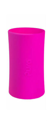 LOT OF 2 NEW Pura Kiki Stainless Steel Infant Bottle Silicone Sleeves- TALL PINK