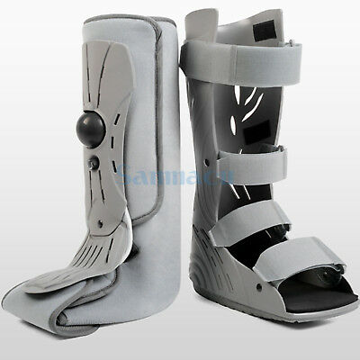 S/M/L Inflatable Fracture Ankle Foot Sprain Walker Boot Brace Support Fixed