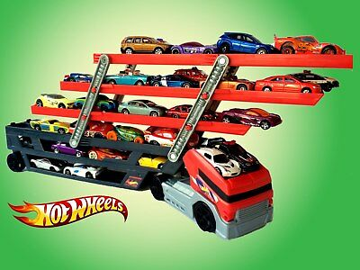 Hot Wheels Mega Hauler Rig Transporter Truck - Holds 50 Diecast Cars - BRAND NEW