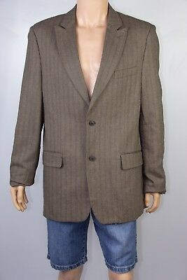 Scotch and Soda Mens Jacket Long Sleeves Blazer Light Brown