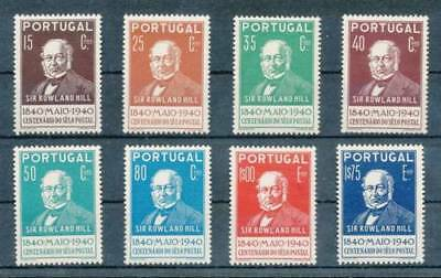Portugal 1940 Rowland Hill Set  (Mint Light Hinged)