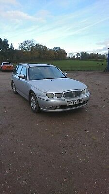 rover 75 tourer 2.0 cdt long mot spares or repairs