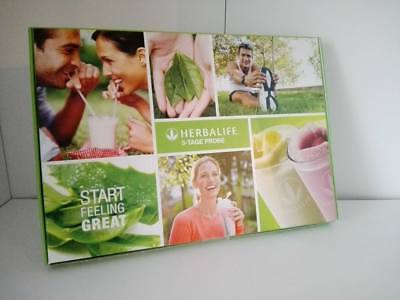 HERBALIFE 3 oder 6 Tage Probierpackung (Vanille, Thermo Complete, !!NEU!!! TOP!)
