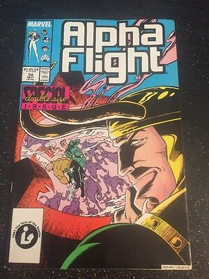 Alpha Flight#50 Incredible Condition 9.0 Loki App(1987) Wow!!