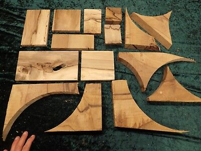 Blackheart Sassafras small pieces - offctuts for the toy or jewellry maker