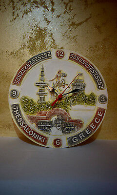 Wall Clocks With Thessaloniki And Alexander The Great