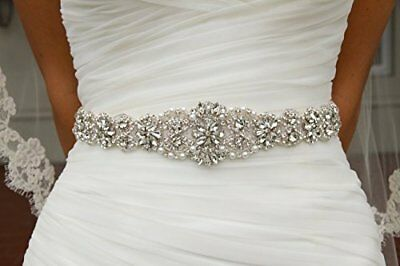 Crystal sashes for wedding, Wedding Bridal Belt, Braided Rhinestone Sash New