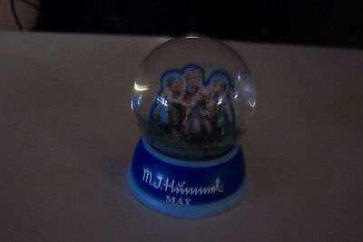 small Hummel Snow Globe for May