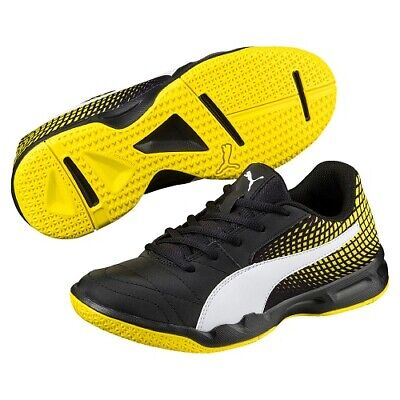 PUMA VELOZ INDOOR NG V Jr. Kinder Hallenschuhe Klett Indoor