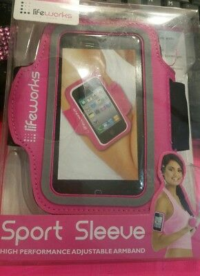 Life Works Active Band iPhone 5 iPod Touch MP3 Nylon Spandex Arm Band