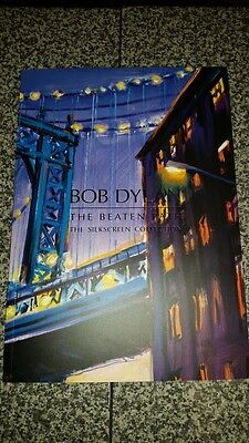 Bob Dylan The Beaten Path 2017 Art Book Catalogue Limited Edition Silkscreen