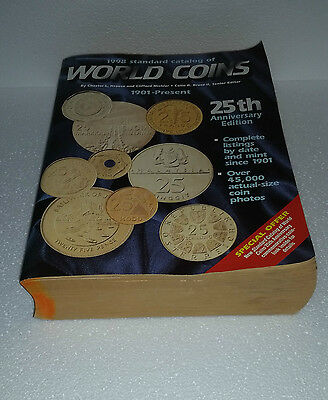 World Coins Catalog 1901 - Present (1998) Krause & Mishler Used Book 1792 pages