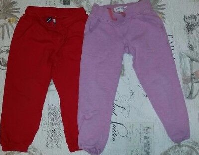 Lot of 4 Pairs: Size 4T: Mini Boden, Benetton Pants some new or very good cond