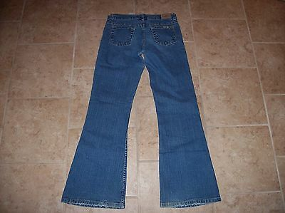 Girls Levi Strauss Signature Stretch Low Rise Flare Jeans ~ SZ 16R
