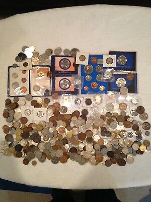 Huge World Coin Lot 19th, 20th And 21st Centuries