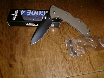cold steel code 4 Spears Point CTS xhp Taschenmesser