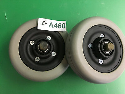Invacare  Caster Wheels & Tires for Pronto Sure Step M51  ~set of 2~  #A460