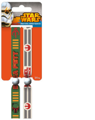 Star Wars (Rebellion) Festival Wristbands (2) Official Licensed Product