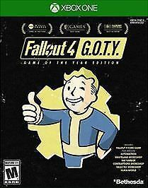 * New * Sealed *  Fallout 4: Game of the Year Edition - Microsoft Xbox One  GOTY