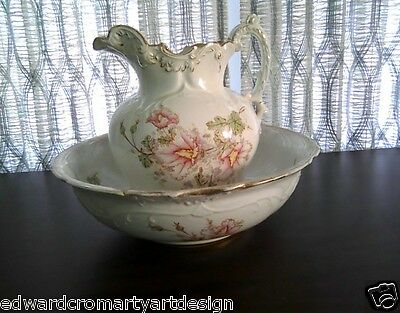 Antique 1895 to early-1900's, E. P. Coy, Colonial Crown Semi-Vitreous Porcelain