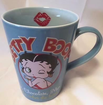 Betty Boop Coffee Mug Cup Tall Porcelain Tea  King Features Syndicate Hot Euc