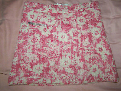 Bonpoint floral tweed girls skirt  size 6 year new $ 330.00