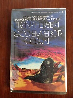 God Emperor Of Dune by Frank Herbert (1981, Hardcover) Ex Library Book 4