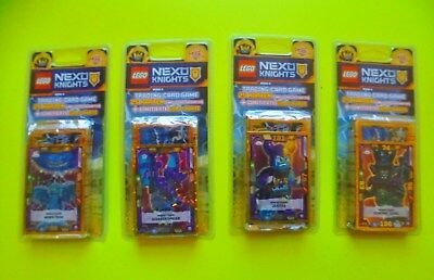 Lego Nexo Knights Serie 2 alle 4 Limited Edition Blister Limitierte Edition LE