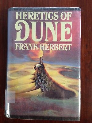 Heretics of Dune by Frank Herbert (1984, Hardcover) Ex Library Book 5
