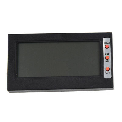 H1 LCD Screen Digital Thermometer C / F hygrometer Max Min Memory temperature /