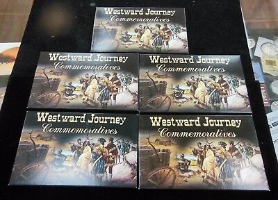 2004 - 2006 Westward Journey Commemorative Nickels Gold Edition 10 Coins 5 sets