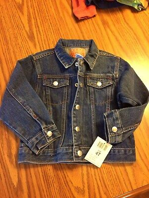 NWT 4T Guess jean jacket (retail tag of $36.00)