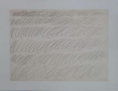 CY Twombly – Farboffset-Lithographie (expressionismus motherwell pollock kline)