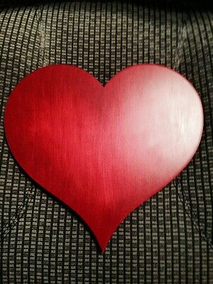 Perfect for Valentine's Day - Goebel Wooden Red Heart Display Base - Lovely
