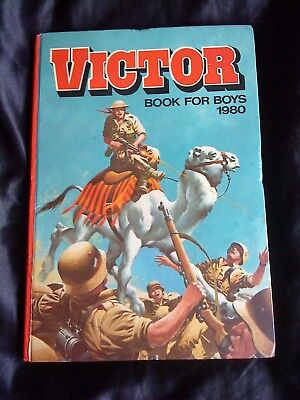 Victor Book For Boys 1980
