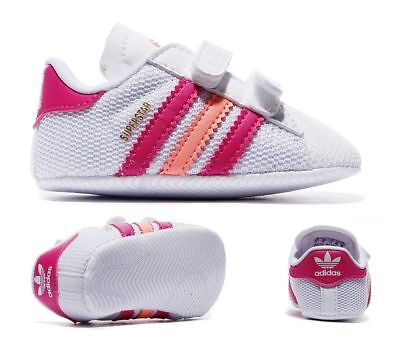 new arrival 884d8 d4aee Adidas Originals Superstar Crib Shoes Baby Infant Trainers - S74771