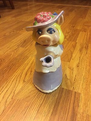 Miss Piggy Sesame Street Muppets Water Pitcher / Tea Pot