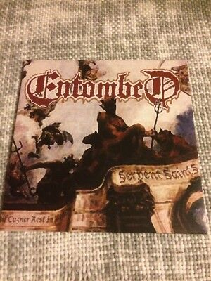 Entombed Serpent Saints LP Death Metal
