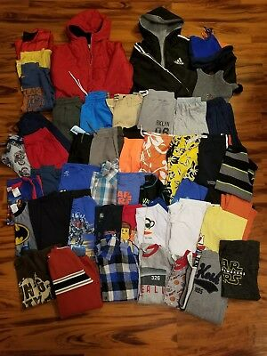 Huge 45 pc. Lot of Boys Clothing Size 8-10