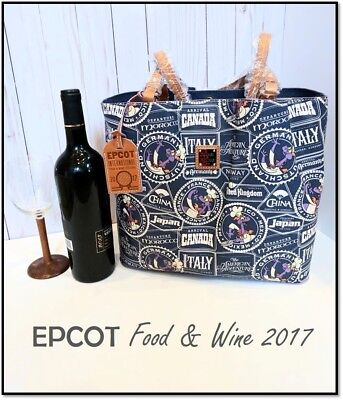 Disney~Dooney Bourke~LARGE TOTE PURSE~NEW w/tags~Epcot Food & Wine 2017~Figment