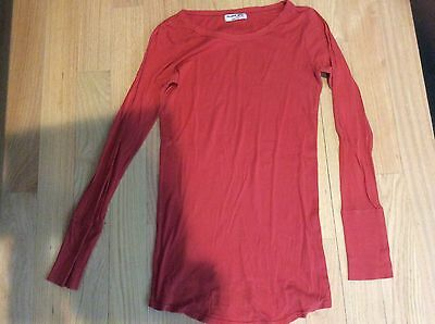 Lot 3 Michael Stars Maternity Supima Long Sleeve Tees Shirts Osfm
