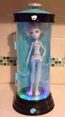 Lagoona Blue Dead Tired 2008 First Wave Doll Hydration Station Monster High