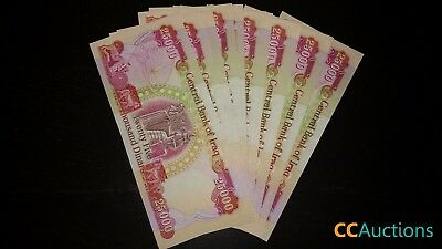 1,000,000 Iraqi Dinar (40) 25,000 Notes Uncirculated!! Authentic! Iqd!