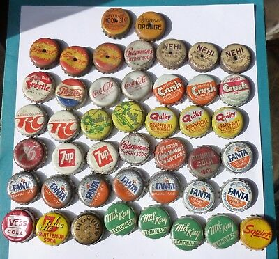Vintage Cork Bottle Caps