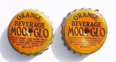 Moon-Glo Cork Bottle Caps   Super Rare!