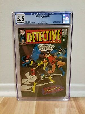 Detective Comics 369 (CGC 5.5) 1st Batgirl and Robin Team-up; Batman