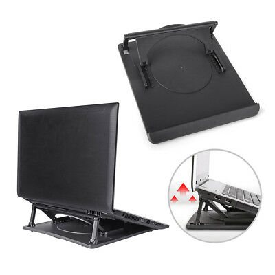 Laptop Holder Cooling360°Rotation Stand Mount Notebook Table Desk Swivel Tray FR