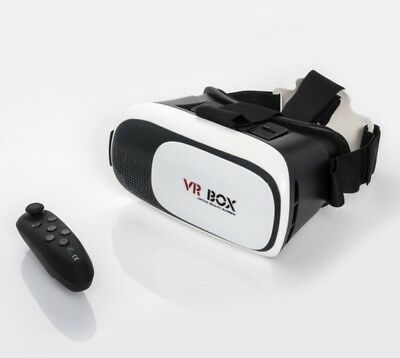 virtual reality Brille VR Glas 2.0 3D Mit Controller Neu
