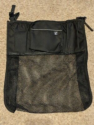 Childress Stroller Organizer, Black, EUC