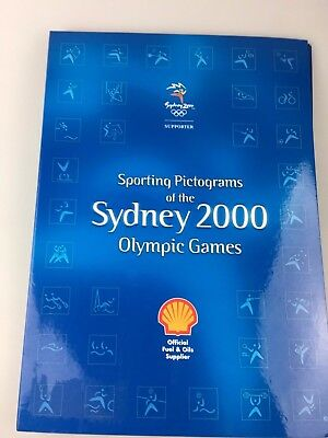 Olympics - Sydney 2000 - Medallions - Pictograms - Issued By Shell - Petrol Oil